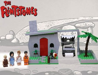 LEGO Flintstones look way better than Bedrock!