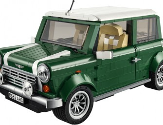 Lego Mini Cooper Mk VII is Awesomeness comprising of 1077 Pieces
