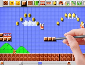 Nintendo Mario Maker lets players create their own levels!