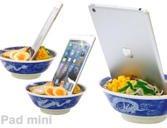 Would you put your iPhone in a Ramen Bowl..Well maybe!
