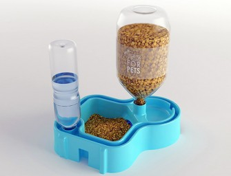 PetsForPets automatic pet feeder: Takes care of your pets even when you are out