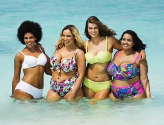 Re-Enacted Sports Illustrated 2014 Swimsuit Edition cover uses Plus-Size Models
