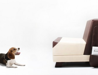 The Puppy Sofa by Monocomplex looks like your pet dog