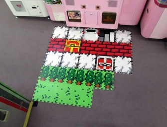 Quest 8-Bit Mats will transform your room into a Mario World