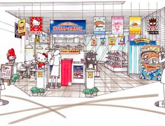 "Pop-up store ""Sanrio Character Ranking Award Café"" opens its doors in Tokyo"