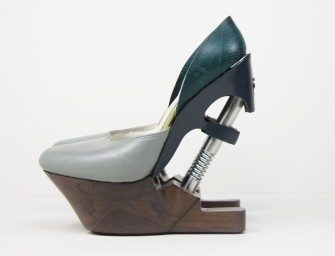 Shoes with impact absorbers can make high heel comfortable