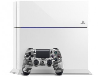 Sony set to launch Glacier White Playstation with Camouflage Controller