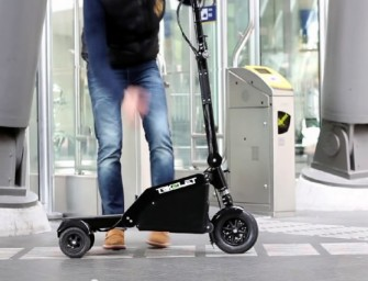 World's Smallest Foldable Electric Vehicle, Trikelet redefines convenience