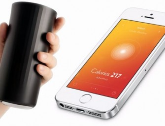 Vessyl: An iPhone connected Smart Cup that counts calories!