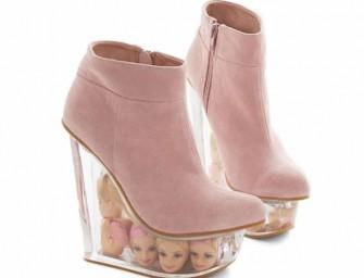 Walk the Walk with Barbie Head Wedges