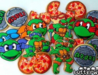 These artistic cookies are a nerdy masterpiece
