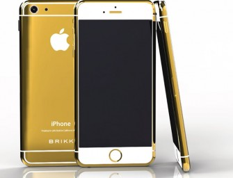 Brikk's Lux iPhone 6 gold, platinum and diamond embellished collection up for pre-order