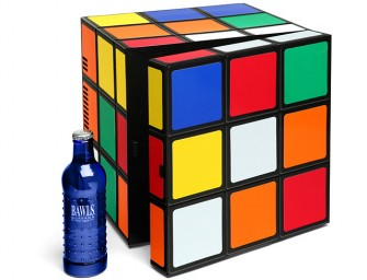 Unsolved Quirkiness: Rubik's Cube Mini Fridge