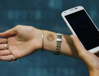 Digital Tattoos let you just tap your wrist and unlock your Smartphone
