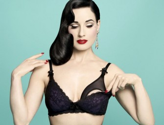 Von Follies by Dita Von Teese: Sexy maternity lingerie for new moms