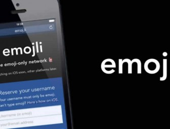 Emojli: The first ever social network that lets you communicate by using only emoticons!