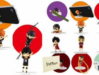 Haikyuu desktop figurines keep your desk organized