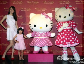 Hello Kitty enters Hong Kong's Madame Tussauds