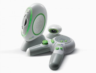 Leap Frog LeapTV is an edutainment gaming console for kids