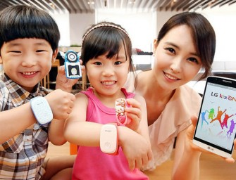 LG KizON Wearable Device Keeps a Check on your Kiddos