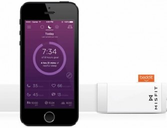 Misfit Beddit attaches to your bed, to monitor your sleep