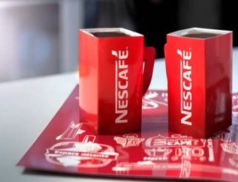 The Pop Up Shop by Nescafé encourages you to share coffee with strangers
