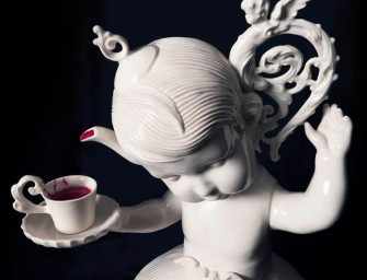 Maria Rubinke's Porcelain Sculptures are grotesque, yet beautiful