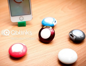 Like A Remote Controller, QBlinks Device Does it All for iPhones