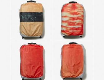 Sushi Suitcase Covers make your next trip memorable