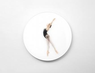 The Time Is Dancing Ballerina Clock by Meike Harde is the most beautiful thing ever