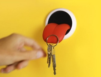 Tongue Key Holder will hold your essentials like a swag!