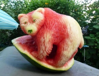 Feast your eyes on the most brilliant Watermelon Carvings ever