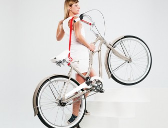 Bull's Eye Bike Lift & Carry Makes Carrying Bikes an Easy Task