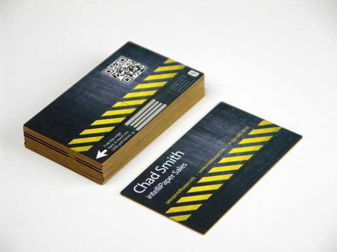 swivelCards Paper Business cards turning into USB sticks