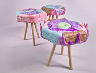 These Candy inspired Chairs can keep your Sugar Cravings high!