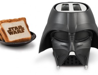 Darth Vader Toaster will ensure your bread is on a Dark Side!