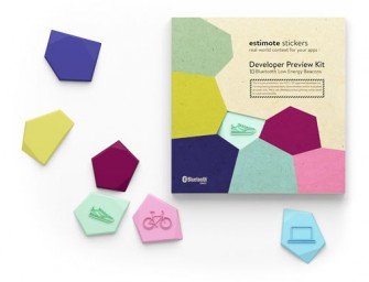 Estimote Sticker Beacons make wireless sensors out of everyday objects