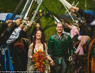 This Game of Thrones wedding had a happy ending