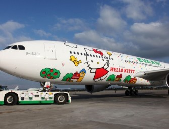 Taiwanese airline EVA Air Launches Hello Kitty-themed Chartered Flights