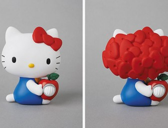 Say Hello to Gilapple by UNDERCOVER x Hello Kitty x Medicom