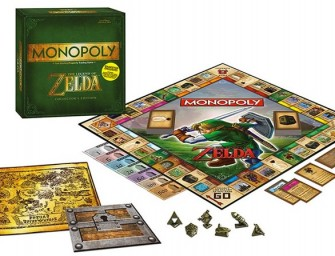 The Legend of Zelda Monopoly lets you compete for Hyrule!