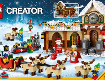 LEGO Christmas Set for early festive preparations