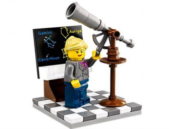 Lego Kit now Includes Female Chemists and Palaeontologists