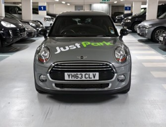 MINI's new JustPark Dashboard App lets you find parking on the go