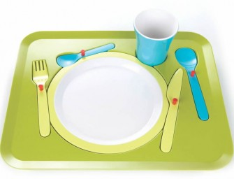 Jigsaw Dinner Tray will hopefully keep your tot busy at meal times
