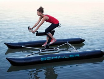 Cycle On Water With Schiller X1 Water Bike