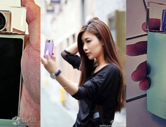 Sony Coming Out with a Perfume-Bottle Shaped Selfie Camera?
