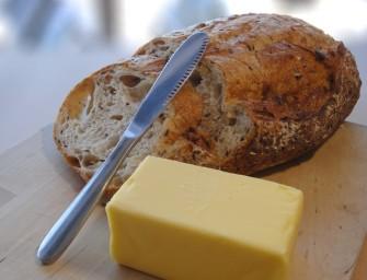 The Stupendous Splendiferous ButterUp knife cum grater makes breakfast a delicious affair