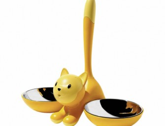 Tigrito Cat Bowl by Alessi: Feed your cats in style
