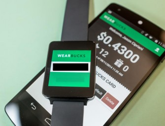 Flash your WearBucks Wrist at Starbucks for your Morning Coffee